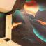 naadloos behang entree print muur vinywall metroxl trendy